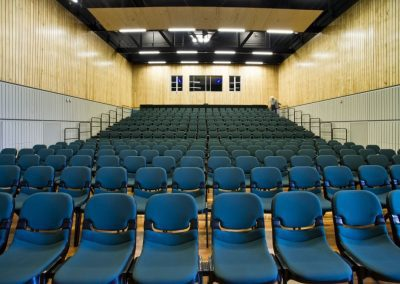 Auditorium With Seating Block Assembled