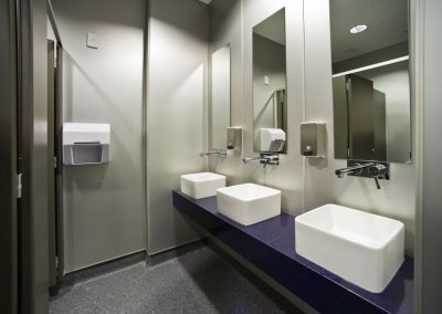 Clean & Modern Rest Room Facilities