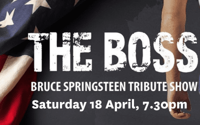 The Boss- Bruce Springsteen Tribute Show – Saturday 18 April 2020 – 7.30pm