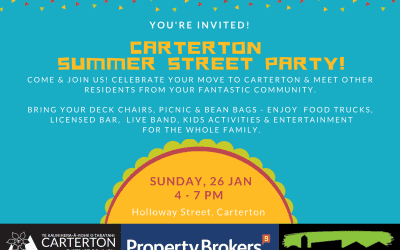 Carterton Summer Street Party – Sunday 26 January – Holloway Street