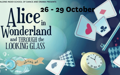 Alice and Wonderland and Through the Looking Glass – Geraldine Inder School of Dance – 26 – 29 October