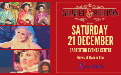 The Christmas Gilbert & Sullivan Show – Saturday 21 December – 11am & 2pm