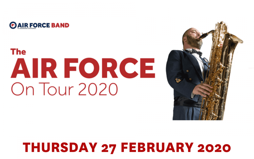 The Air Force on Tour – Thursday 24 February 2020, 7.30pm