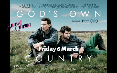 Sunset Cinema – God's Own Country – Friday 6 March 7pm