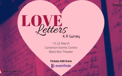 Limelight Theatre – Love Letters – Friday 13 March