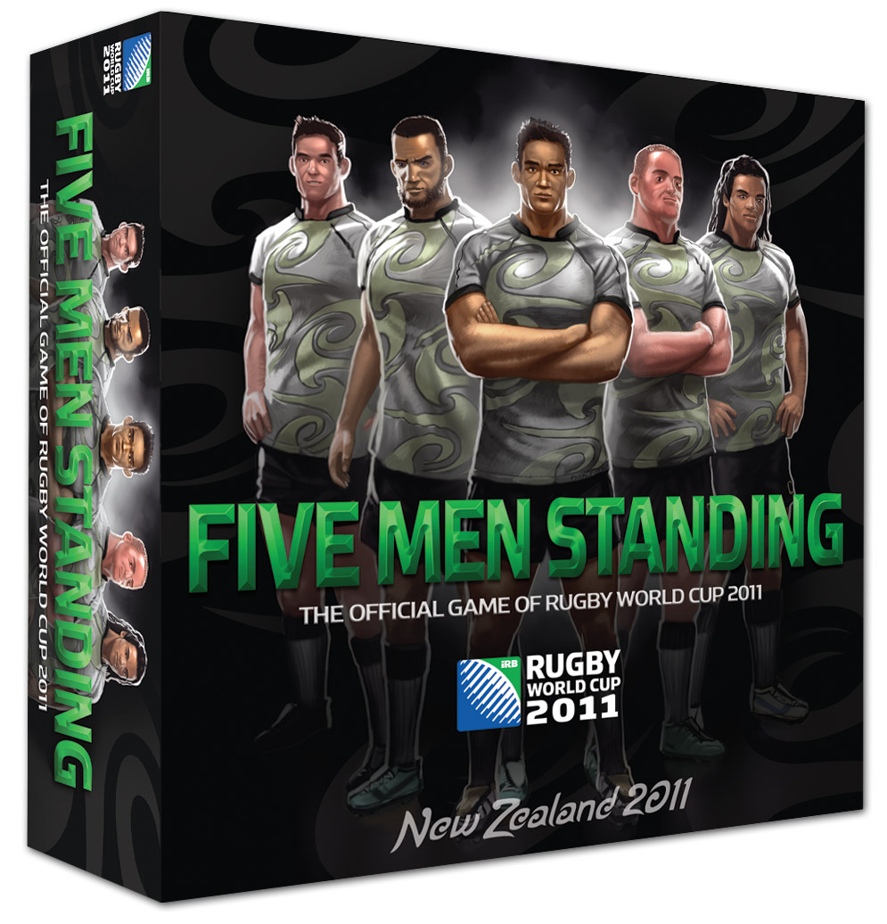 Five Men Standing box