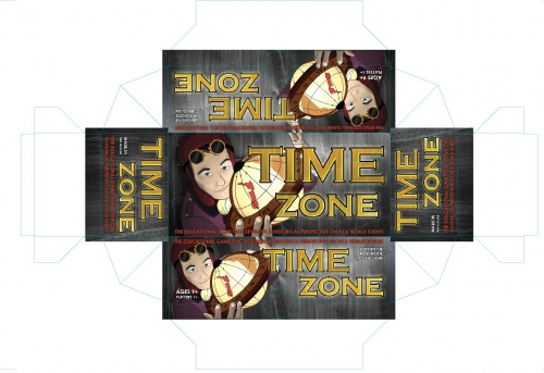 Timezone - Illustration version