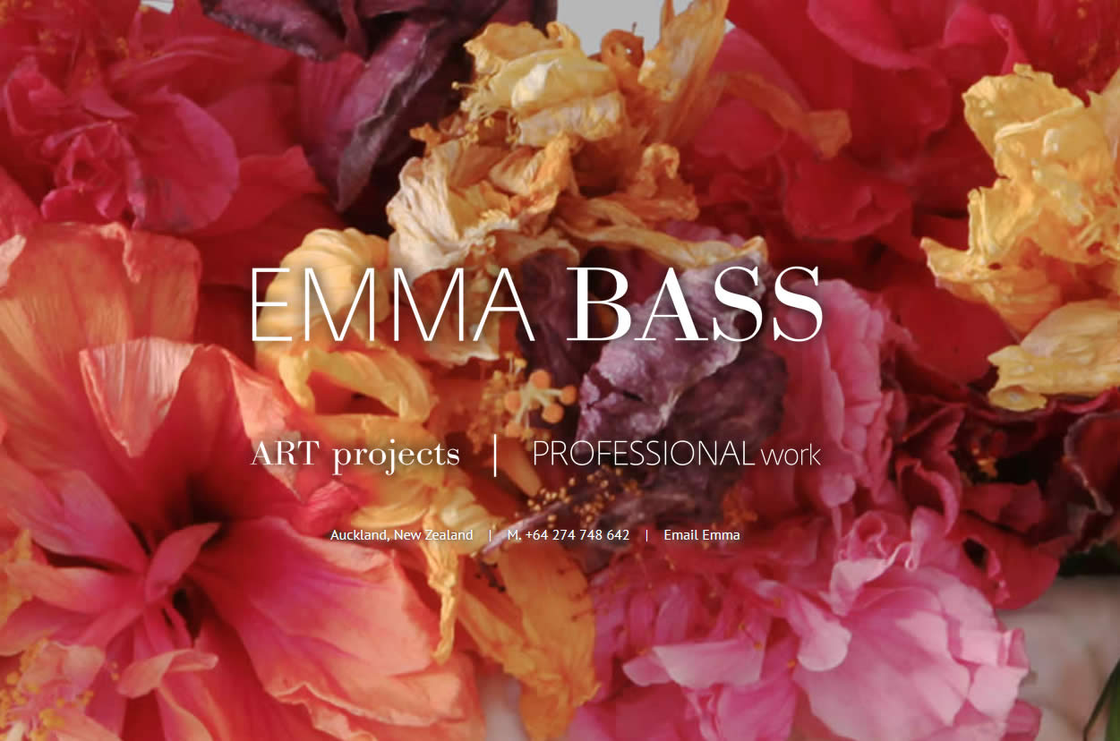Emma Bass – updated site