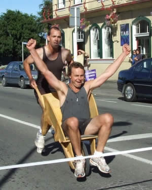 The Great Carterton Wheelbarrow Race