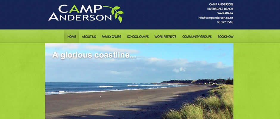 Camp Anderson website