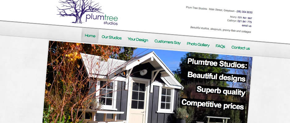 Plum Tree Studios : Website