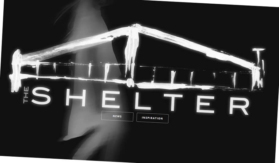 The Shelter - Website By Nectarine