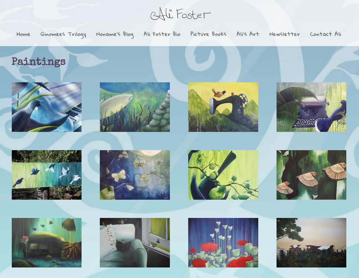Ali Foster Website By Nectarine Alifoster Art Copy