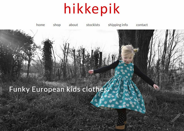 Hikkepik – Funky European kids clothes