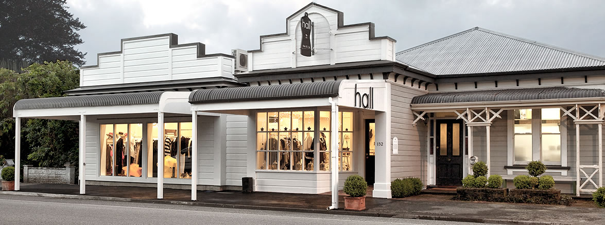 Hall Fashion Clothing Showroom 2017 Greytown Wairarapa