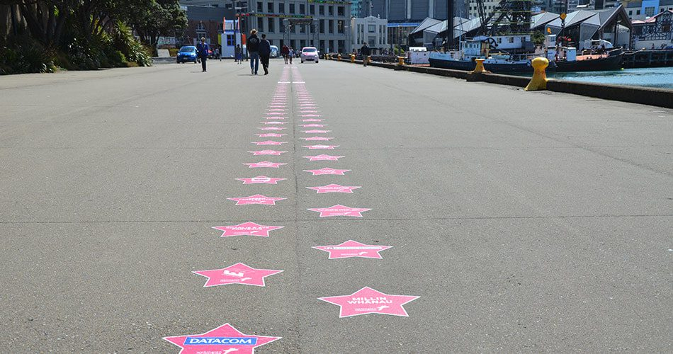 See our Xmas star on the waterfront