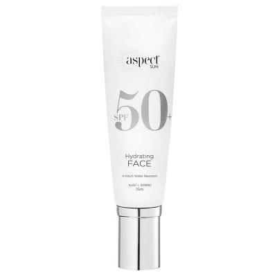 Aspect Sun Hydrating Face 75g NR Laser Aesthetics NZ